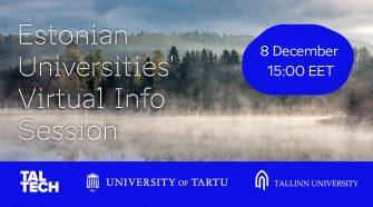 studii peste hotare estonia
