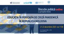 discuții publice online educație in pandemie