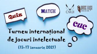 Jocuri Intelectuale turneu internațional