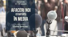 training gratuit startup în media
