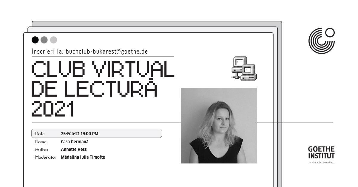 club virtual de lectură bucurești