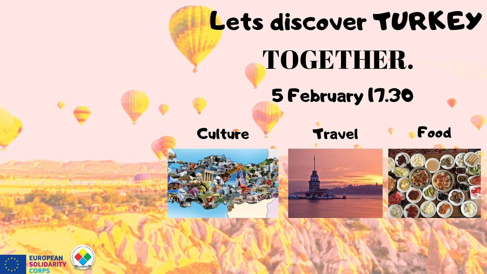 evenimente pentru tineri descoperă turcia