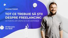 webinar gratuit despre freelancing