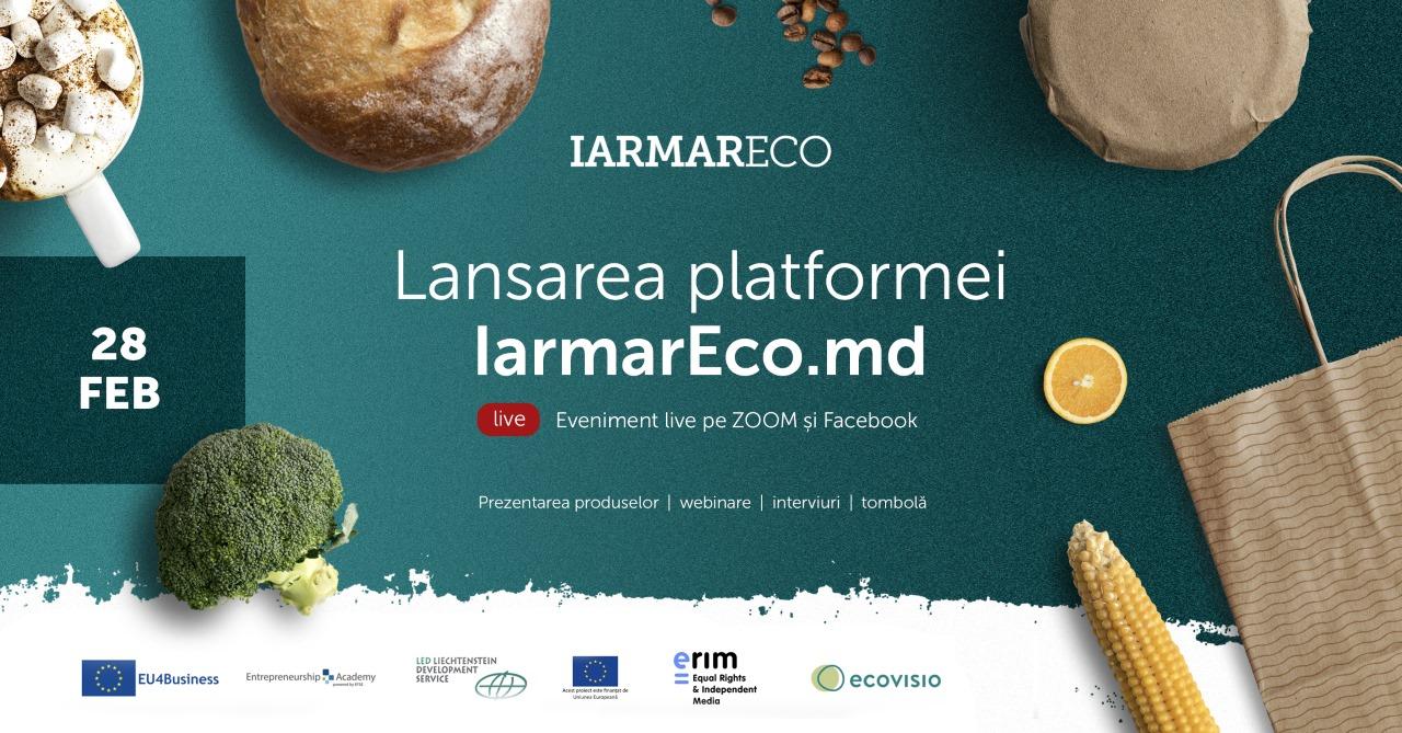ecovisio lansează iarmareco platforma online