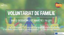 voluntariat de familie sesiune de informare