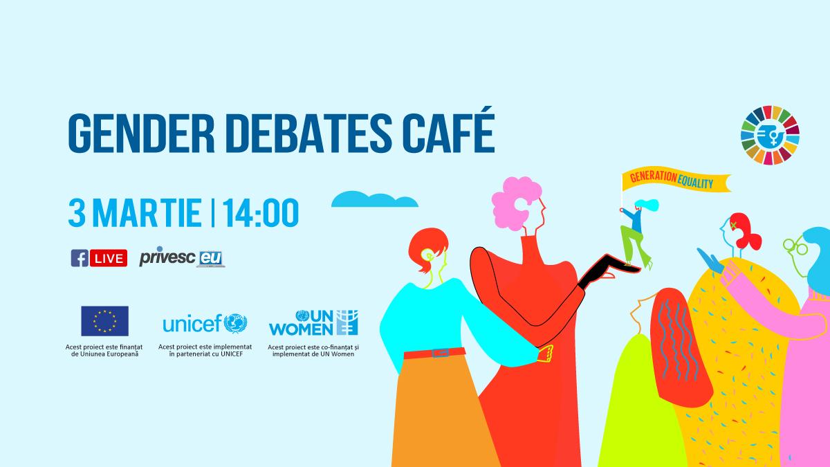 Gender Debates Café Cahul