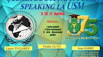 Școala de Dicție și Public Speaking USM