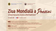 ziua mondială a poeziei evenimente pentru tineri live