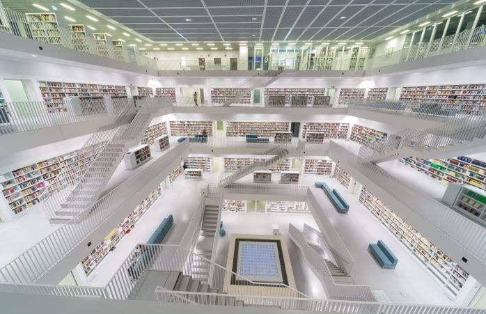 biblioteci din Europa