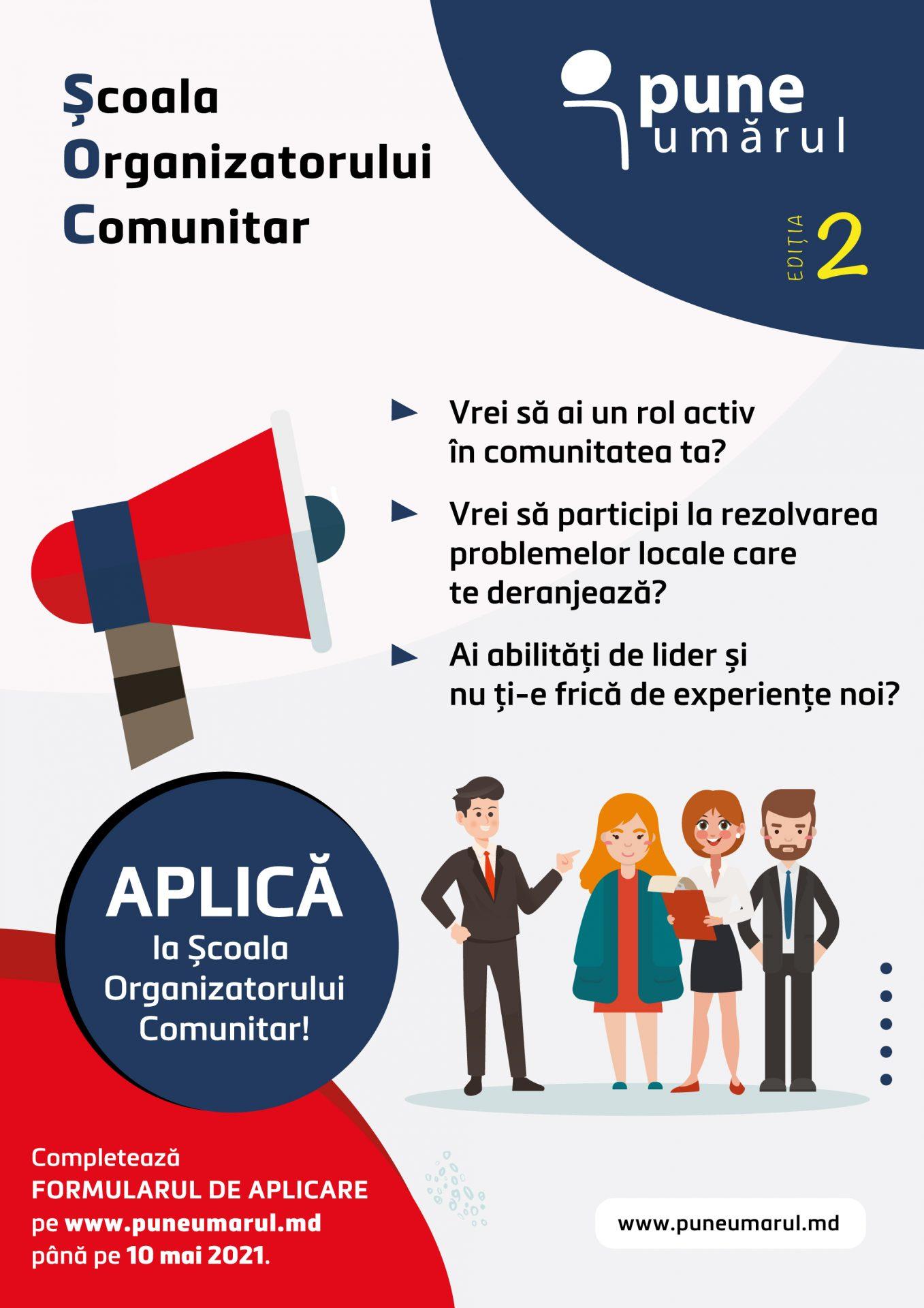 Școala Organizatorului Comunitar 2021