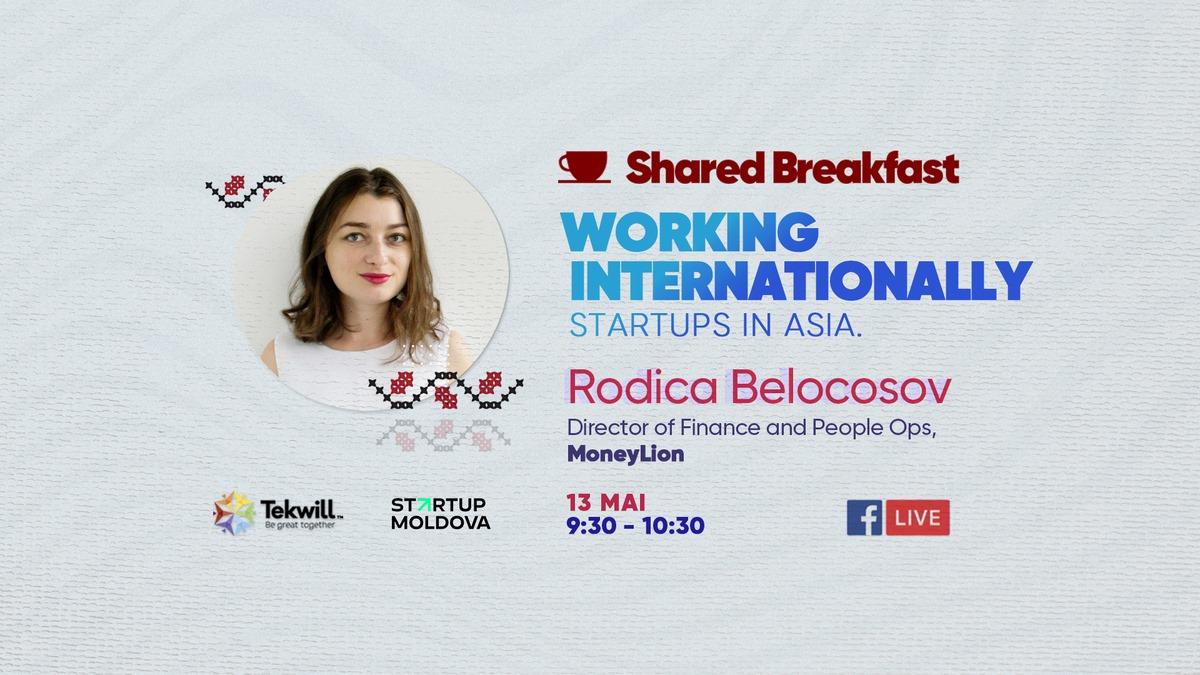 Shared Breakfast Tekwill Startup Moldova