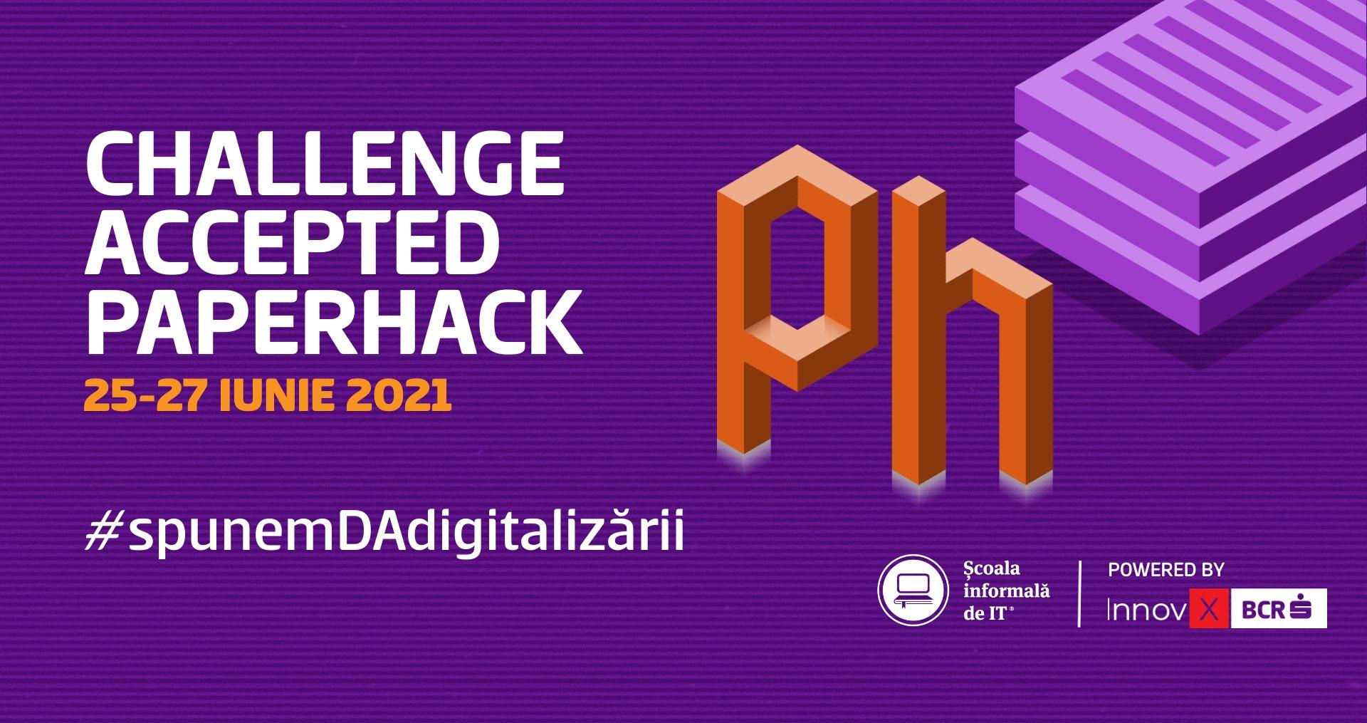 hackathon digitalizare