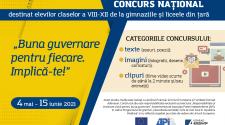 concurs național pentru elevi API