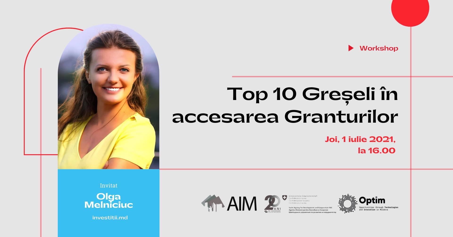 accesarea granturilor