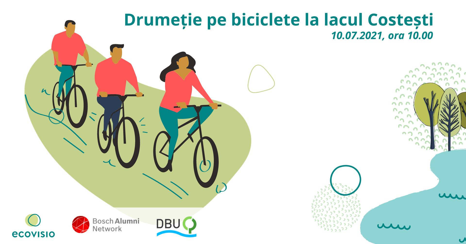 bicicleta traseu turistic ecovisio