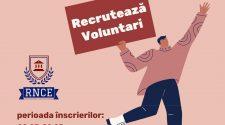 voluntari rețeaua națională a consiliilor elevilor