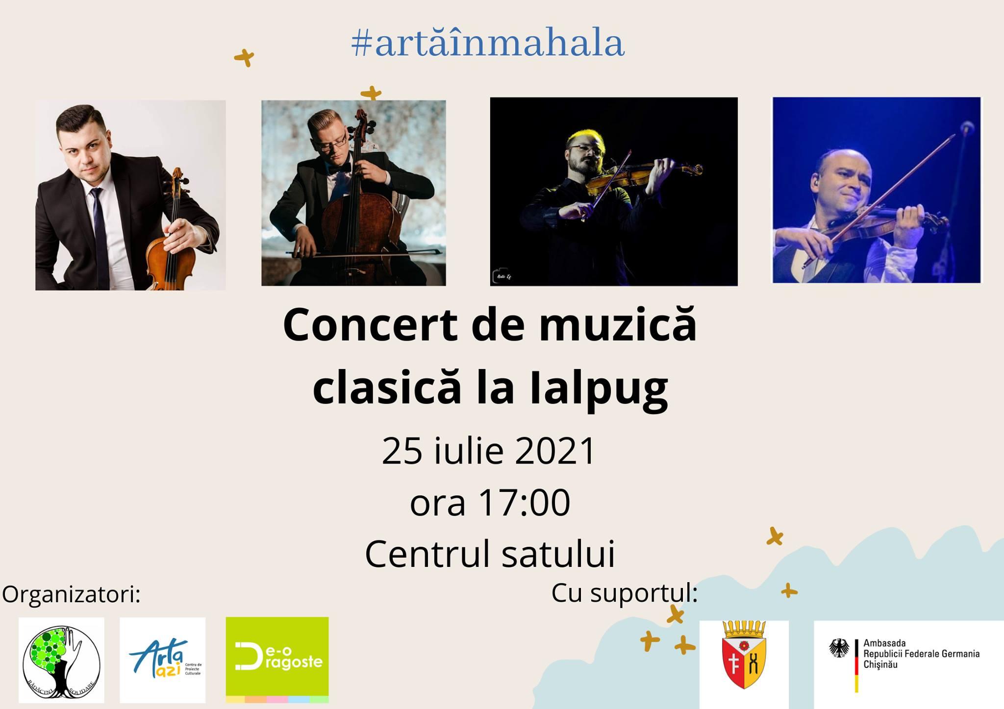 concert artă în mahala