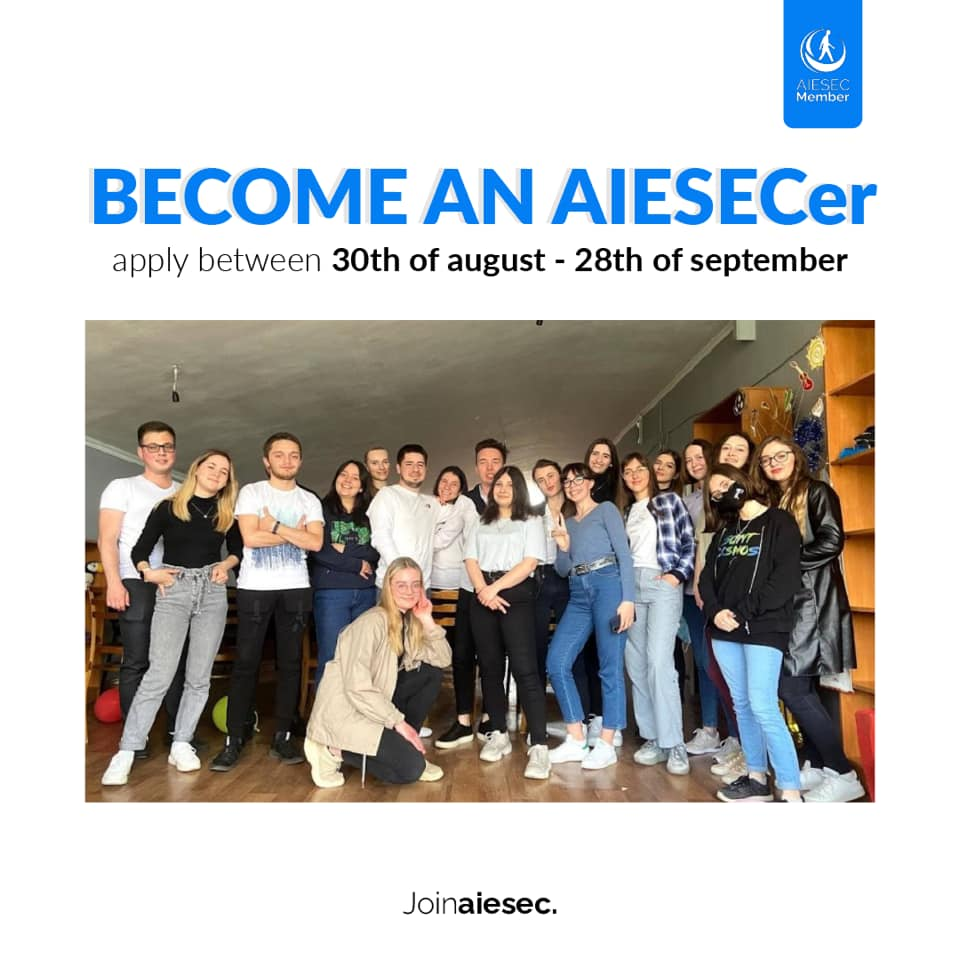 voluntariat AIESEC Moldova
